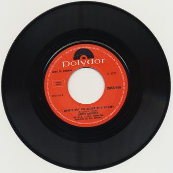 "The 7"" single 'Oh my child' (B-side)"