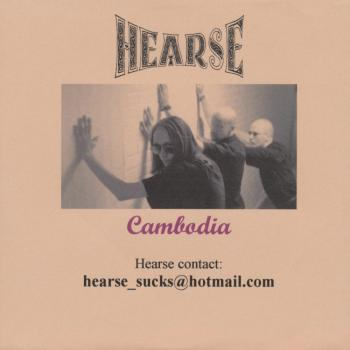 Cambodia', early promotional cd-single