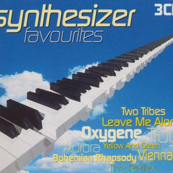 The 3CD set 'Synthesizer favourites'