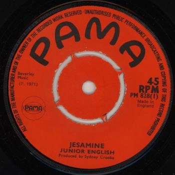 "The 7"" single 'Jesamine'"