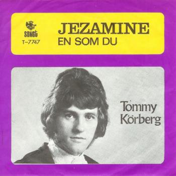 "The 7"" single 'Jezamine'"