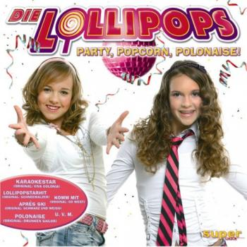 The CD 'Party, popcorn, polonaise!'