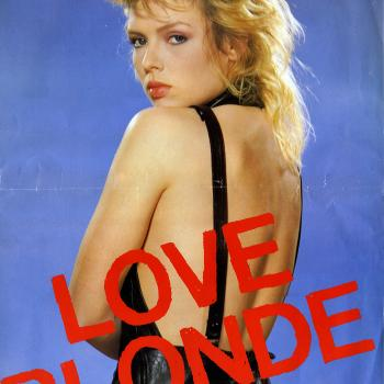 Love blonde - publicity poster