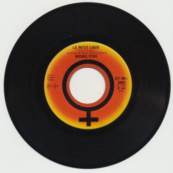 "The 7"" single 'Caroline Cherie' (B-side: 'Le petit Louis')"