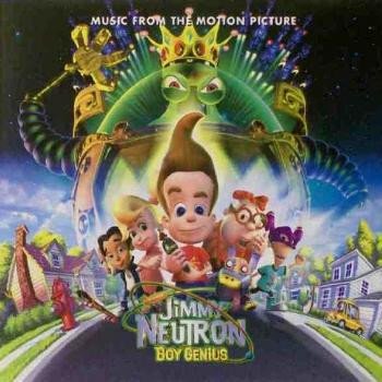 The CD 'Music from the motion picture Jimmy Neutron Boy Genius'