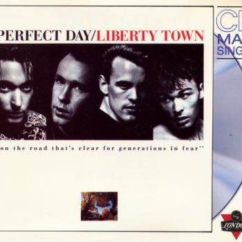 The CD-single 'Liberty town'