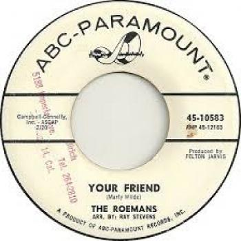 "The 7"" single 'Your friend'"
