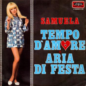 "The 7"" single 'Tempo d'amore'"