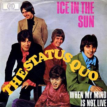 "The 7"" single 'Ice in the sun'"
