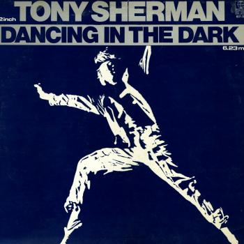 "The 12"" single 'Dancing in the dark'"