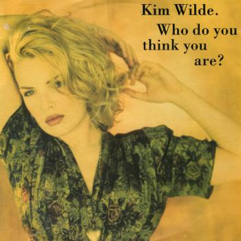 "Who do you think you are? - German 7"" cover"