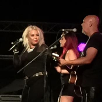 Kim, Scarlett and Ricky performing at Remember Cascais festival in Portugal, posted by @paulofragosot (June 14, 2014, 1:35am)