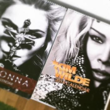 2014 calendars featuring Madonna and Kim Wilde. Posted by @val_valio (January 6, 2015, 3:09pm)