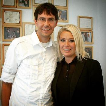 A beautiful picture of Kim with @stephanbodinus from 2006. (January 10, 2015, 7:41pm)
