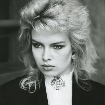 Sometimes you can't beat an old photograph. Kim Wilde in 1981, posted by @exhumeouridols. (April 8, 2015, 11:22pm)