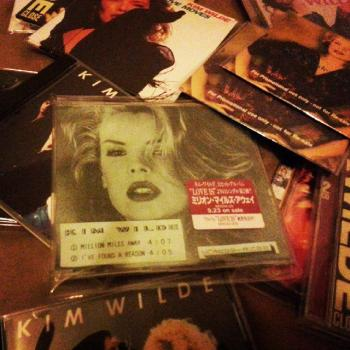 From his Kim Wilde collection, posted by @nigeljbevans. (April 17, 2015, 5:34pm)