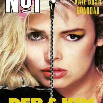 This is a classic magazine cover featuring Deborah Harry and Kim. Posted by @mrdanielporter (April 26, 2015, 11:21am)
