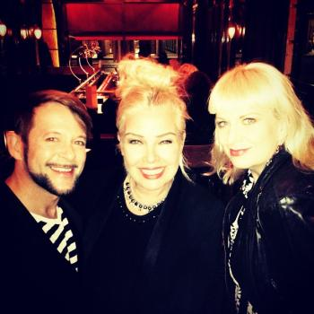 Kim Wilde with Michael von der Heide and Tora Augestad at the premiere of King Size at the Royal Opera in London on April 14. Posted by @michael_von_der_heide (April 27, 2015, 5:01pm)