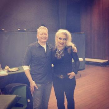 Kim Wilde and Danish fan Anders Christian Storm. Posted by @teasesanddares (July 13, 2015, 11:06pm)
