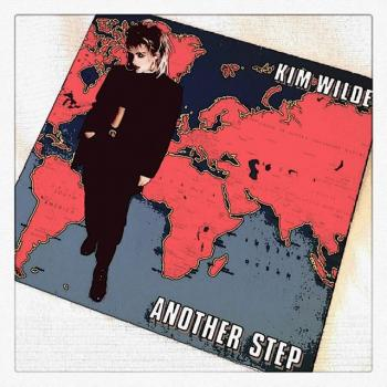 A rather arty pic of Kim's fifth album 'Another Step', posted by @mrjnl80s (July 15, 2015, 8:03am)