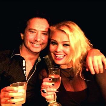 Kim Wilde with, presumably, Arthur Stamos. Posted by @global_vip_events (July 16, 2015, 11:09am)