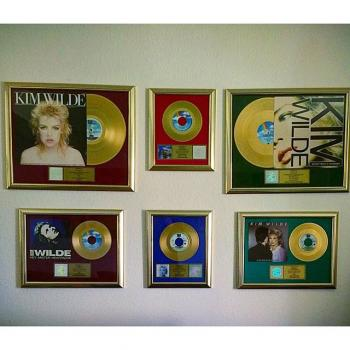 A nice collection of un-authentic gold records. Posted by @lippschi (September 12, 2015, 3:39pm)