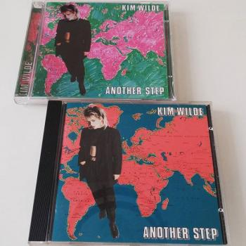 Two CD versions of 'Another Step'. Posted by @greaser78 (September 22, 2015, 2:19pm)