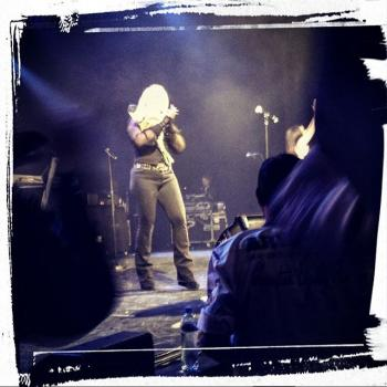 Kim Wilde performing live in Den Bosch, the Netherlands on October 2, 2015, posted by @lonnekevoets (October 2, 2015, 10:11pm)