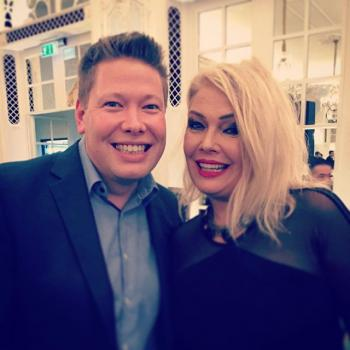 Tony Becks and Kim Wilde at the Gold Badge awards, posted by @tonybecks (October 15, 2015, 9:09am)