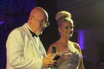 Ricky and Mandy presenting the 2013 Wilde Summer ball