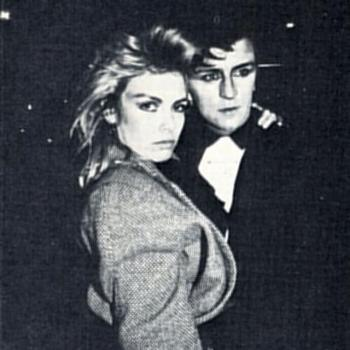 Kim Wilde and Steve Strange, 1982. Posted by @fiona_konca (February 12, 2016, 11:56am)