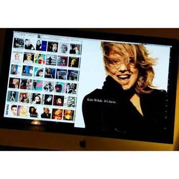 Kim Wilde on a Mac, posted by @humps71 (March 16, 2016, 7:34am)