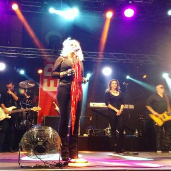 Kim Wilde performing live in Purkersdorf (Austria), posted by @mfgrijs on June 5, 2016