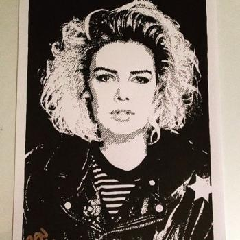 Even more Kim Wilde art, posted by @ren.ayyy on September 21, 2016