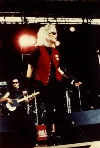 Kim Wilde live at Elixer Festival, Brest (France), July 15, 1984