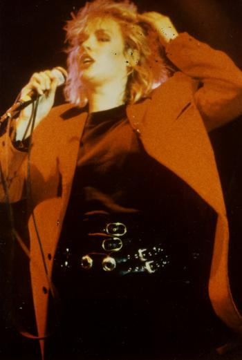Kim Wilde live at Palais des Sports, Montpellier (France), March 27, 1985