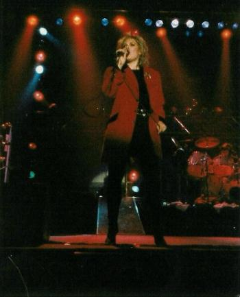 Kim Wilde live at Palais des Sports, Montpellier (France), March 27, 1985. Photo © Christian Coulet