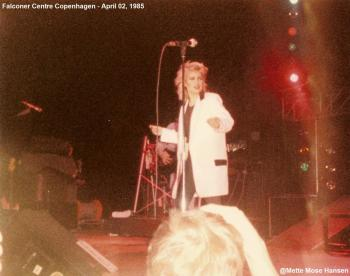 Kim Wilde live at Falconer Centre, Copenhagen (Denmark), April 2, 1985