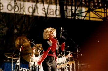 Kim Wilde live at Feijenoord Stadium, Rotterdam (Netherlands), June 5, 1988