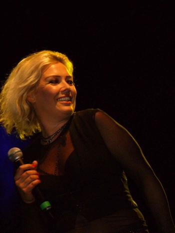 Kim Wilde live at Stanmer Park, Brighton (UK), June 22, 2007
