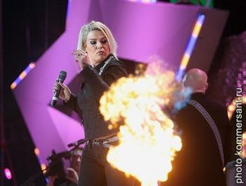 Kim Wilde live at New Ice Arena, St. Petersburg (Russia), November 25, 2007