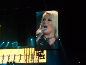 Kim Wilde live at O2 World, Berlin (Germany), December 19, 2008