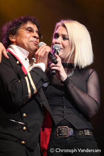 Kim Wilde and Laurent Voulzy live at RTL Spiroudome, Charleroi (Belgium), April 24, 2010