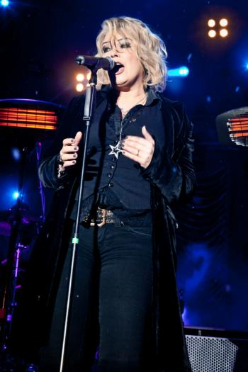 Kim Wilde live in Saalbach Hinterglemm (Austria), December 17, 2010