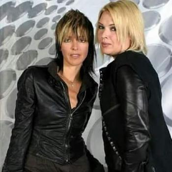 From the vault: a rare picture of Kim Wilde with Nena. Posted by @mahtab.sandra on April 19, 2017