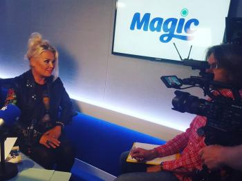 Interview with Kim Wilde. Posted by @clairebearmcgill on July 11.
