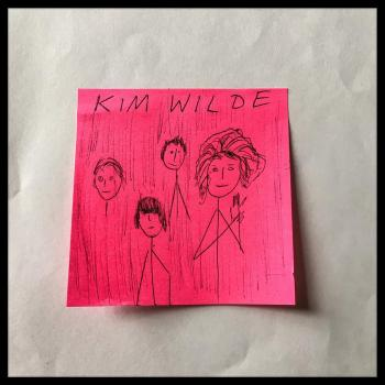 This @postitalbumcover can be considered minimal art. Posted on July 21.