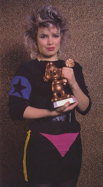 1984: Golden hammer smurf award, Germany