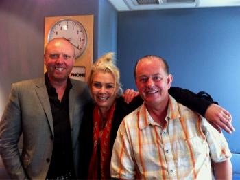 With Glenn Gregory and Martyn Ware (Heaven 17), 2011