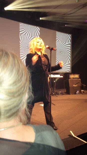Kim Wilde live at Hotel Okura, Amsterdam (Netherlands), April 13, 2013